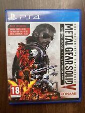 Metal Gear Solid V 5-la experiencia definitiva PS4 Inmaculada ** ** post rápido