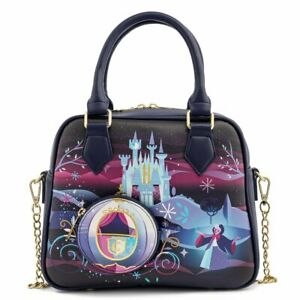 Cinderella Princess Castle Crossbody Bag Loungefly Disney