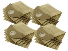 20 x Strong Dust Bags for Karcher WD2.200 MV2 IPX4 WD2240 Vacuum Cleaner Hoovers