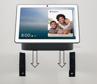 Wall Mount Wall Bracket For Google Nest Hub Max 10 inch Touchscreen In Black