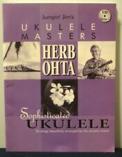 HERB OHTA - SOPHISTICATED UKULELE - MUSIC SONGBOOK with CD - 2002