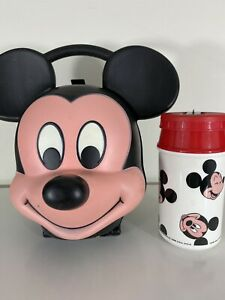 Aladdin Inc The Walt Disney Company Mickey Mouse Lunchbox With Thermos