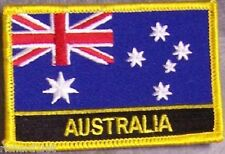 Embroidered International Patch National Flag of Australia NEW flag