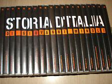 OPERA COMPLETA 20 DVD STORIA D'ITALIA GIOVANNI MINOLI 1815 1994 CORRIERE