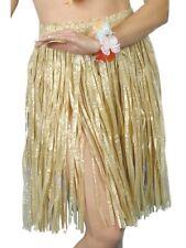 femmes Banquet hawaïen Herbe Jupe Hula Déguisement Beige Plage Soirée par
