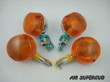 SUZUKI A70 A80 A90 AS100 A100 U50 U70 AC50 A50 Front & Rear turn signal Winker