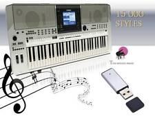 PSR s710 USB-stick+15000 styles