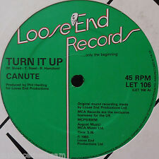 """CANUTE ~ Turn It Up ~ 12"""" Single"""