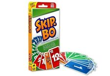 CARTE DA GIOCO SKIP.BO Ramino Poker Azzardo Mattel Dal Negro Hobby 030 093586