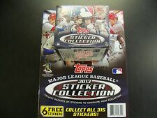 2013 TOPPS BASEBALL STICKER COLLECTION BOX WITH 2 ALBUMs