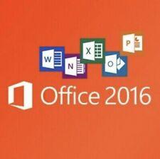 BLITZVERSAND * MS Microsoft Office 2016 Vollversion Für MAC (Download+Lizenz)