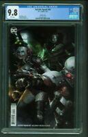 Suicide Squad #49 CGC 9.8 Francesco Mattina Variant Cover Edition DC Comics