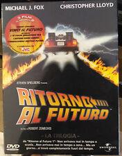 DVD TRILOGIA RITORNO AL FUTURO ORIGINALE NUOVO SIGILLATO