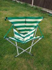 VINTAGE Andrews Maclaren Gadabout WALKING STICK Chair Green & White