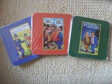 3 Donald McGill Humorous Postcard Coasters