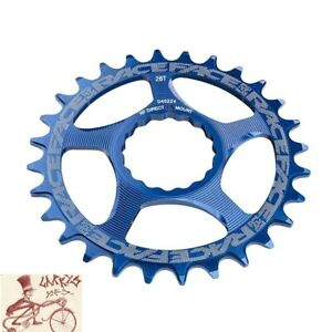 RACE FACE CINCH DIRECT MOUNT 28T BLUE ALLOY BICYCLE CHAINRING