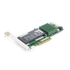 Supermicro AOC-SASLP-H8iR 8-port RAID Adapter SAS/SATA 512MB 3Gb/s With Battery