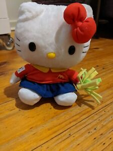 FIFA 2002 World Cup Hello Kitty Reversible Plush Happy Meal Toy McDonald's