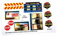 MASK stickers for KENNER M.A.S.K THE COLLECTOR Stickers Personalized + Extra's