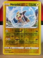 Morpeko  73/192 S&S: Rebel Clash  Reverse Holo  Mint/NM Pokemon