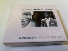 "NAT KING COLE AND HIS TRIO ""THE GOLDEN YEARS OF NAT 'KING' COLE"" 3CD 60 TRACKS"