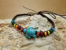 Vintage Sea Turtle Charm Bracelet hippie boho Friendship Surfer Bracelets Anklet