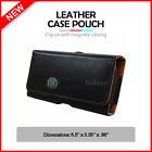 Leather Pouch Belt Case for Phone Motorola Moto E4 Plus / E5 Plus / E5 Supra /G6