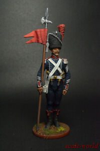 Tin soldier figure Senior sergeant - 2nd orlonosos the 7th light regiment 54mm