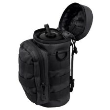 SALE Rothco MOLLE Compatible Water Bottle Pouch Black Hydration System Gear