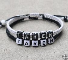 Taken bracelet Couples Bracelets loves bracelet Friendship Gift Christmas Gift