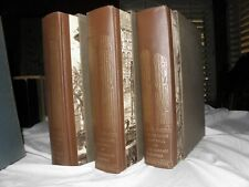 THE DECLINE AND FALL OF THE ROMAN EMPIRE - HERITAGE (1946) 3 VOL. W/SLIP CASES