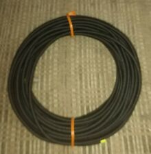 316 X 50 Foot Coil Black Nylon Cover Marine Grade Bungee Cord Med Stretch