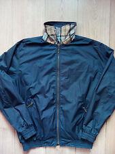 Barbour Vintage Reversible Mens Windbreaker Plaid Jacket T532 AYR Lightweight