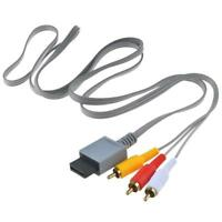 Audio Video AV Composite 3RCA Cable Cord Lead for Wii Console Gift