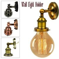 Modern Industrial Vintage Wall Light Sconce E27 Edison Lamp Lights Holder redro