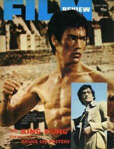 Film Review Revue Bruce Lee Housse Photo Paul Newman Robert Redford Juillet 1974