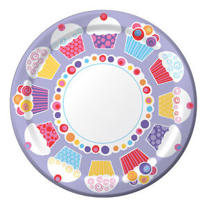 Sweet Cupcake Dinner Plates - Birthday Party Supplies