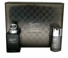 Gucci by Gucci Pour Homme 2pc Geschenkset mit Eau de Toilette Spray 90ml NIB