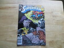 1988 VINTAGE DC ADVENTURES OF SUPERMAN # 445 SIGNED BY JERRY ORDWAY, WITH POA