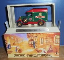 Matchbox Yesteryear Great Beers YGB04 Morris Van Fullers Brassy Wheels Issue 2
