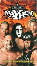 WCW - Mayhem VHS 1999 World Championship Wrestling Monday Nitro Sting Vintage