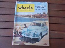 Wheels Car Magazine Reproduction Reprint  May 1953