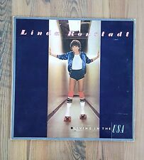 Linda Ronstadt 3 LP Vinyl Record Album Lot - Living in the USA 6E155 Lush Life