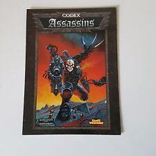 codex assassins warhammer 40k