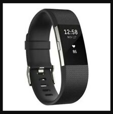 Fitbit Charge 2 L/G Negro HEART RATE + FITNESS WRISTBAND