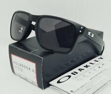 OAKLEY matte black/warm grey HOLBROOK XL OO9417-01 sunglasses NEW IN BOX!