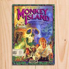 Monkey Island gaming Amiga sign retro vintage metal plaques poster image
