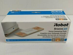 iRobot Braava Jet Damp Sweeping Pads- 10 Cleaning Pads