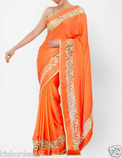 Veeraa Saree Exclusive Beautiful Designer Bollywood Indian Partywear Sari 129