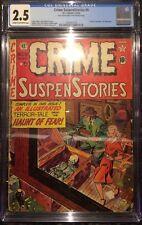 Crime SuspenStories #9 CGC 2.5 EC Comics